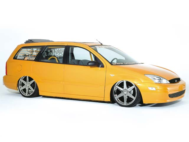 2000 Ford Focus Se Wagon Featured Custom Cars Lowrider