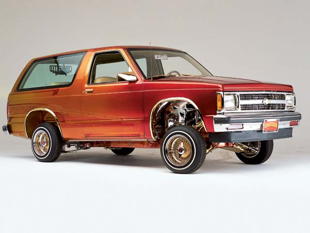 1985 Chevy Blazer The Outlaw Lowrider Magazine