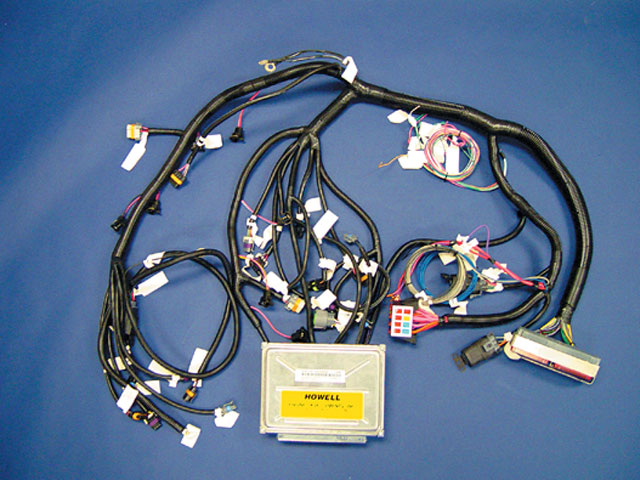 Howell wiring harness for ls1 wiring diagram database lowrider parts and new lowrider products lowrider magazine rh lowrider com gm wiring harness ls1 wiring publicscrutiny Image collections